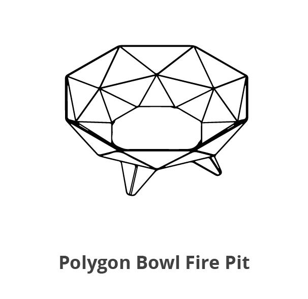 Polygon Bowl Fire Pit