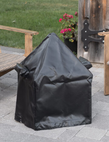 """18"""" Cube Tarp Cover For pit with Spark Screen"""