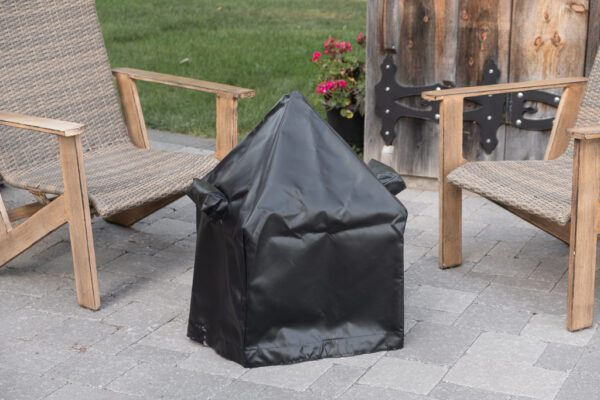 """18"""" Modern Cube tarp cover with spark screen"""
