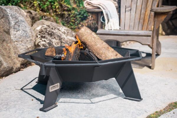 small outdoor residential fire pit