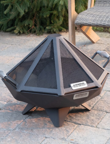2′ Polygon Bowl Stainless Spark Screen