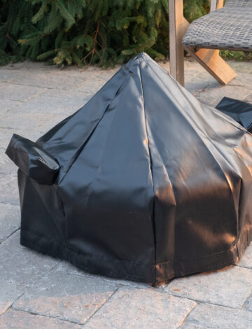 2' Cottager Tarp Cover For pit with Spark Screen