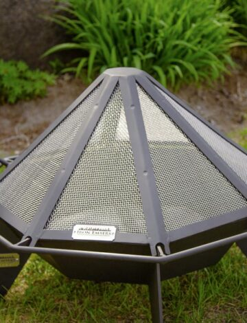 2′ Cottager Stainless Spark Screen