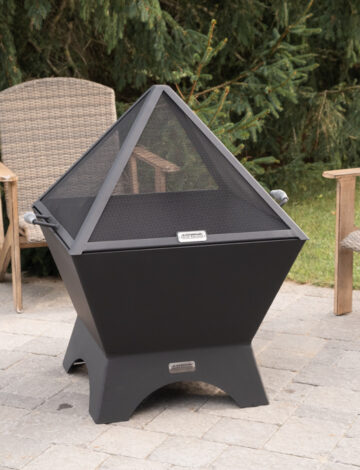 30″ Cube Stainless Spark Screen