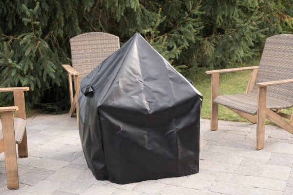 """30"""" Modern Cube Tarp Cover for pit with Spark Screen"""