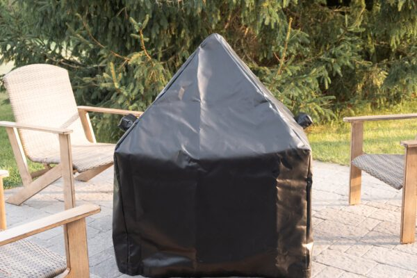 """36"""" Modern Cube Tarp for pit and spark screen"""
