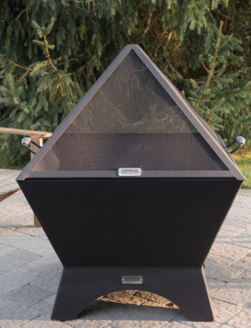 36″ Cube Stainless Spark Screen