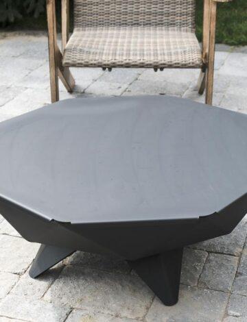 3′ Polygon Bowl Steel Table Top
