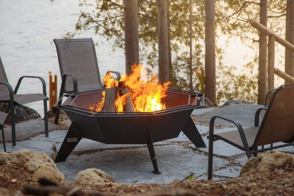 4′ Octagonal Cottager outdoor extra large campfire