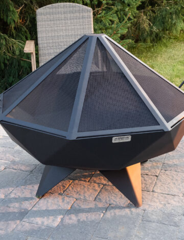 4′ Polygon Bowl Stainless Spark Screen