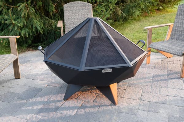 4' Polygon Bowl with Spark Screen