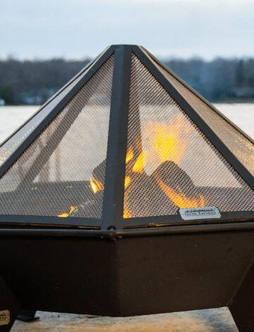 4′ Cottager Stainless Spark Screen