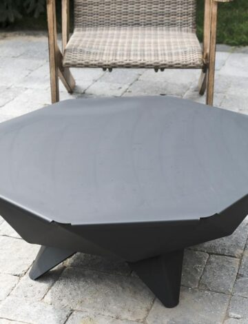 4′ Polygon Bowl Steel Table Top