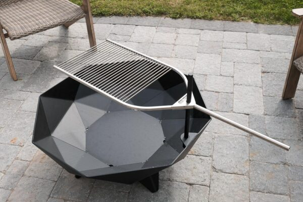 Stainless BBQ accessory for Cube