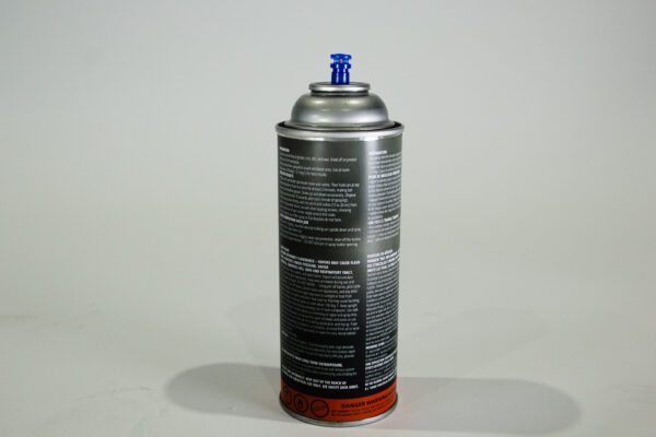 Spay Can Iron Embers Safety Label